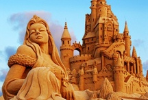 Art: Sand sculpture