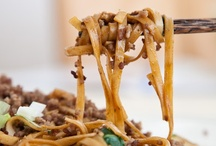 noodle twirlitude / been in the mood for noodles lately and have been searching out yummy looking recipes to try.  here they are :) / by Julie Beauvais