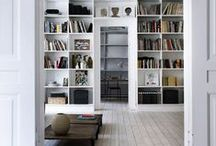 Homelife - Libraries / A collection of inspiring ways to store your books. These attractive library ideas are a book-lovers dream!