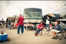 RV Tailgating / When it's game time, an RV gives you home field advantage no matter how far you are from home. So when the team spirit moves you, we've compiled a few helpful hints to ensure your tailgate is a winner. Enjoy!