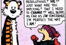 New Year's Resolutions / Some new year's resolutions to start the year off with a laugh.