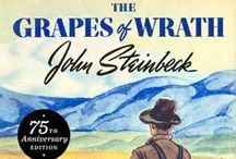 John Steinbeck / April 2014 marks the 75th anniversary of the first Viking hardcover publication of Steinbeck's crowning literary achievement: THE GRAPES OF WRATH. / by Penguin Books USA