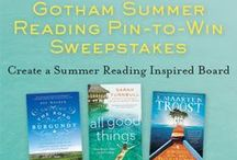 #SummerReading / Enter for a chance to win 3 great travel memoirs! Create a board showcasing your favorite books and places to read during the summer! #SummerReading