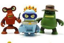 FUTURAMA ! / Matt Groening et Kidrobot renouvellent leur collaboration avec une seconde série basée sur la série culte FUTURAMA.
