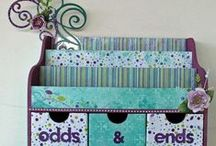 Crafts: Desk Top Organizers / make your own