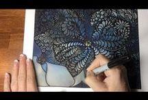 Art: Doodling, Zentangle