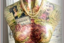 Crafts: Dressform DYI & Ideas / how to make and use as display