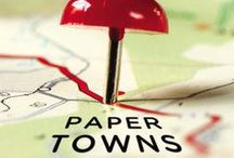 Paper Towns / Explore John Green's PAPER TOWNS world! The #1 Bestselling author of The Fault in Our Stars John Green crafts a brilliantly funny and moving coming-of-age journey about true friendship and true love. / by Penguin Books USA