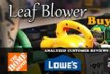 Best Leaf Blowers According to Consumer Reviews / I do a lot of research on just about anything I buy, this time I was researching a good leaf blower. Check out my article for more information, model #'s and my Ultimate Leaf Blower Buying Guide! http://www.simplyadditions.com/Lawn-Garden/The-Ultimate-Leaf-Blower-Buying-Guide.html / by Proven Helper Handy How-to's