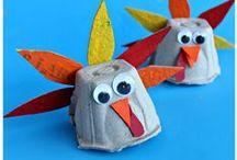 Thanksgiving 2015 / Crafts and other fun activities for kids to celebrate Thanksgiving.