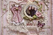 Art: Scrapbook Pages, Layouts