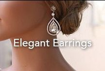 Elegant Earrings / Some of our favorite earring designs that feature beautiful gemstones