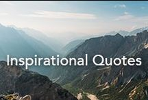 Inspirational Quotes / Quotes to be inspired by