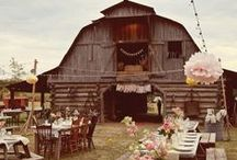 Ideas:Country rustic / If you are a bride striving to create a one-of-a-kind celebration, filled with the personal touches that result in a truly unforgettable occasion for yourself and your guests... follow our Official Mon Amie Bridal Salon boards for the hottest trends, inspiring visuals, fresh tips, original and clever ideas!!!