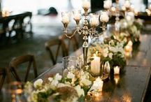 Ideas:Candlelight Wedding / If you are a bride striving to create a one-of-a-kind celebration, filled with the personal touches that result in a truly unforgettable occasion for yourself and your guests... follow our Official Mon Amie Bridal Salon boards for the hottest trends, inspiring visuals, fresh tips, original and clever ideas!!!