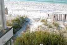 Beach House style decor / What I love in a small beach house or cottage. / by andie jay
