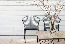 Small Space Design Ideas / Shop furnishings for small space outdoor rooms at: http://www.landngarden.com/small_spaces_s/1849.htm