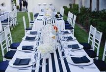 Ideas:Nautical / If you are a bride striving to create a one-of-a-kind celebration, filled with the personal touches that result in a truly unforgettable occasion for yourself and your guests... follow our Official Mon Amie Bridal Salon boards for the hottest trends, inspiring visuals, fresh tips, original and clever ideas!!!