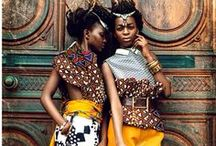 Ethnic Fashion / African print and other ethnic-related