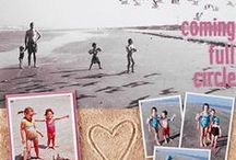 Scrapbook Pages | Large Photos / Scrapbook pages with big photos | Document Life Workshop