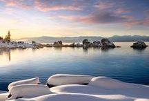 Lake Tahoe Mountain Living / Ideas for outdoor living in beautiful Lake Tahoe, CA