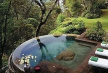 Outdoor Spas, Pools, Showers