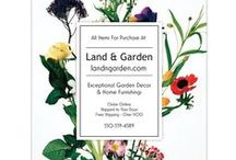 Shop LandnGarden.com / A sampling of our quality, hand-picked products for your garden, home and outdoor living needs.  Shop now at www.landngarden.com.