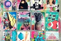 Project Life: Art Journal / Art journaling with pocket pages