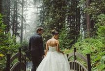 Midsummer Night Forest Wedding / Ideas for a forest garden wedding, from day to night...