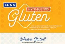 Gluten-Free Living / Did you hear- our entire product line is now gluten-free! Here are some helpful articles/recipes/tips on living a gluten-free lifestyle if you're living with celiac disease or gluten intolerance.  / by LUNA Bar