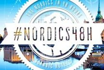 #nordics48h / The Nordics in 48 hours. One leading hotel chain, two international bloggers and one great adventure.  Can you get the Nordic experience in just 48 hours? Scandic says yes, you can. To prove it we challenged travel bloggers Lloyd and Yaya from UK to travel the Nordics during two days and document their journey.  These guys run the successful travel blog Hand Luggage Only.