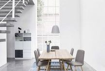 Dining tables by Skovby