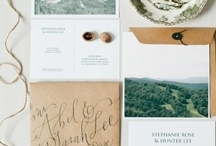 Design + Invitations / by Christine S. Collins / Wood & Grain