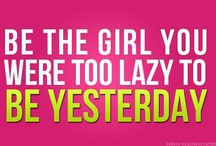OPERATION GET FIT / Inspirational pictures, quotes, and plans for getting healthy and keeping some curves. / by Myss Jones