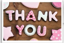 So Many Ways to Say Thank You / Collection of unique and unusual thank you cards and wishes.