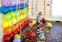 PARTIES & BIRTHDAYS / by Katey Bellrose