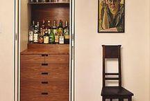 Home Bar Design Ideas - bar essentials & ideas for setup / by Monique Orrell