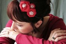 Hair Accessories DIY / How to make hairbands, headbands, bobbles, fascinators and so much more for the hair.