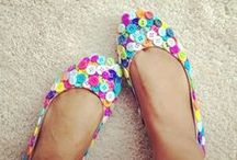Shoes and Bags DIY / Pretty shoes and pretty bags to make.