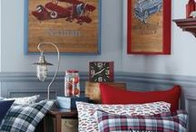 Boys Room Inspiration / Fun Ideas for Decorating for Boys!