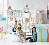 Flexa kidsroom / Linha de mobiliário transformável Flexa. Decoração, têxteis, complementos, arrumação, secretárias Mobiliário que cresce com a criança.