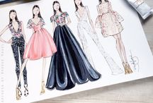 Fashion illustrations / by Gabrielle Cosco