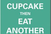 Eat all the cupcakes... / A list of cafes that I want to visit.