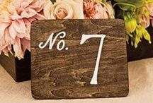Table Numbers / by Paper Moss