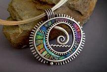 Works by Liz Hall aka Lizards Jewelry / My works from 1997 through current