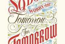 Typography / by Jenny Escobell