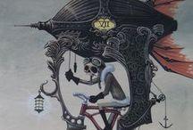 Arte e Ilustração / by Tati Regis
