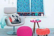 Textile design by Marieke de Geus