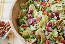 Simple salad! / All types of salads...Winter summer spring and fall! / by Bonnie Jones