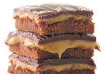 Square Cookies ( brownies & bars)